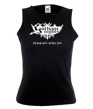 Ladies sleeveless front
